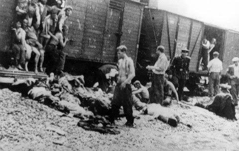 Victime ale Pogromului de la Iași (Foto: Wikipedia)