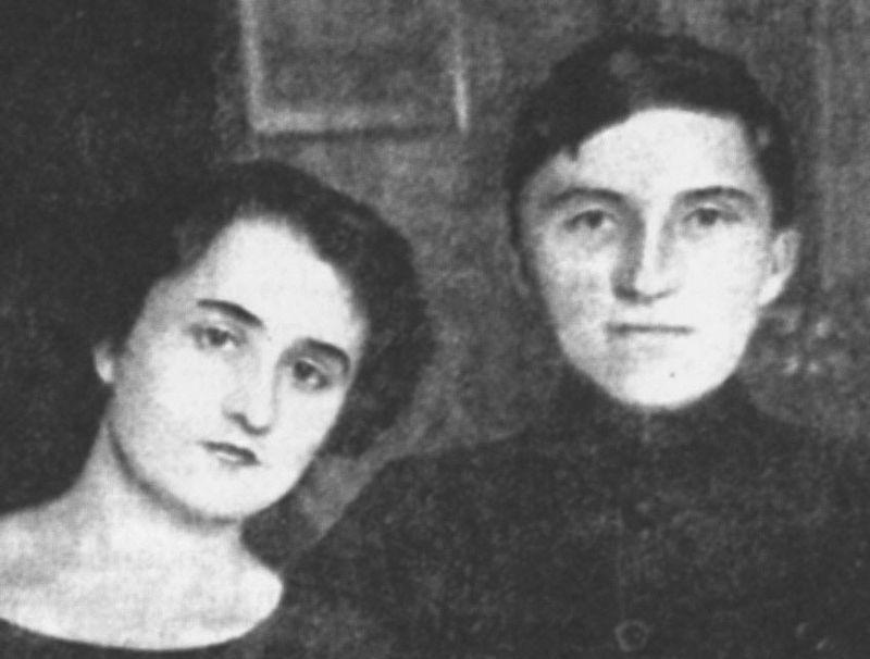 George Topîrceanu și Otilia Cazimir